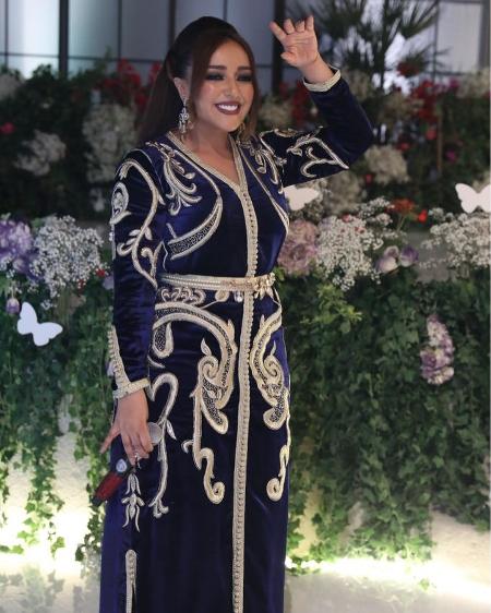 اطلالة جميلة البدوي