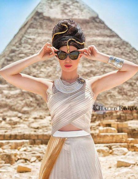 اطلالة فرعونية