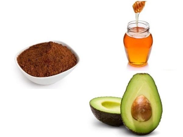 قناع الأفوكادو والكاكاو والعسل