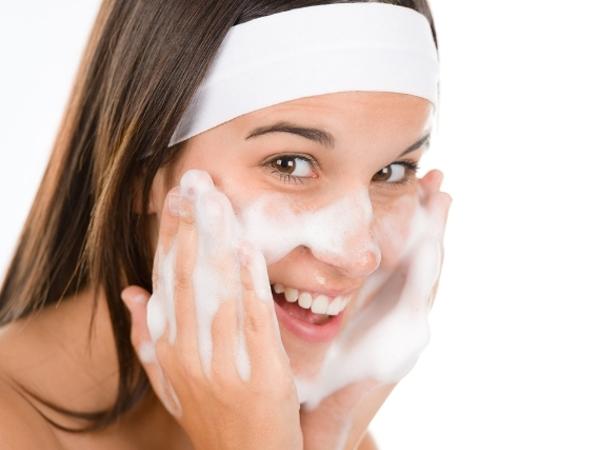 غسل الوجه قبل النوم