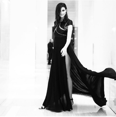 فستان أسود