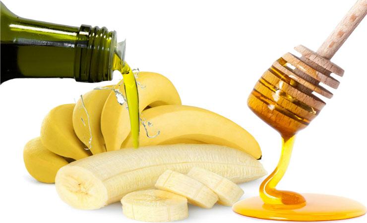 ماسك الموز يطيل الشعر بسرعة خيالية