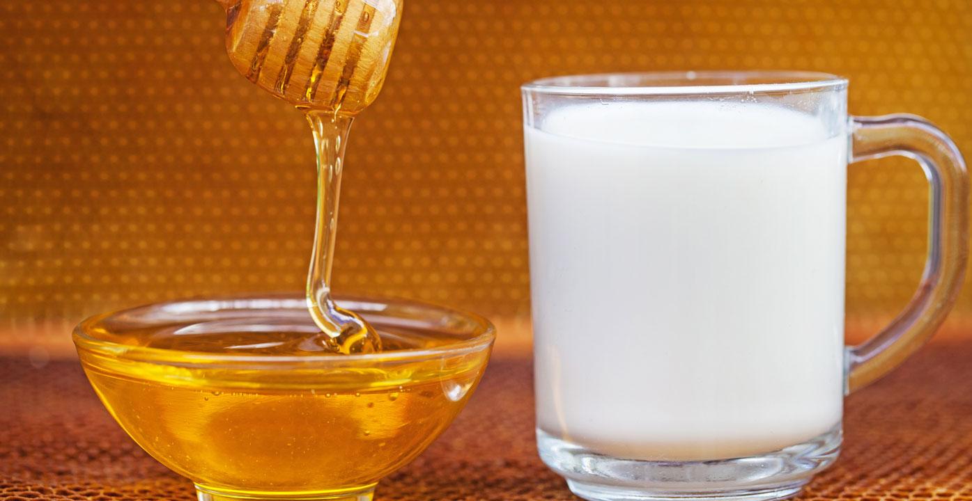 قناع العسل والحليب