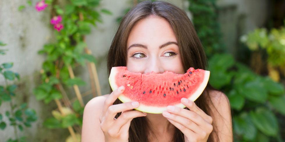 اكل صحي لبشرة صحية