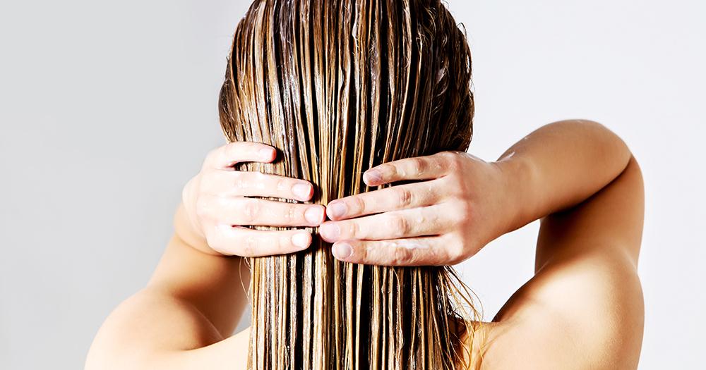 الشعر يحتاج الى خلطات مغذية
