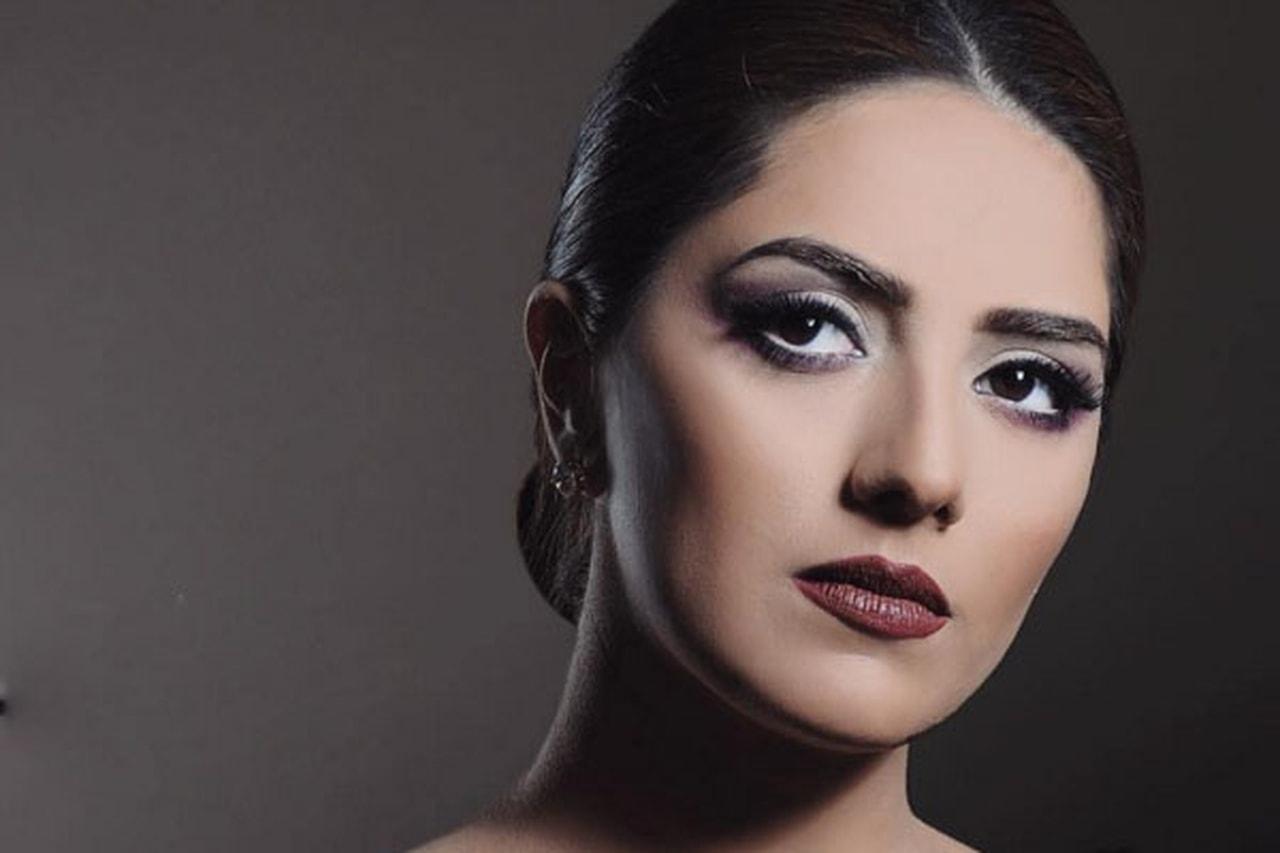 b249de92e مكياج هيا عبد السلام... رقة وأنوثة | مجلة سيدتي