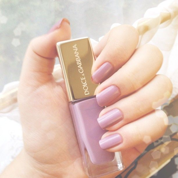 Dolce & Gabbana The Nail Lacquer in Lilac