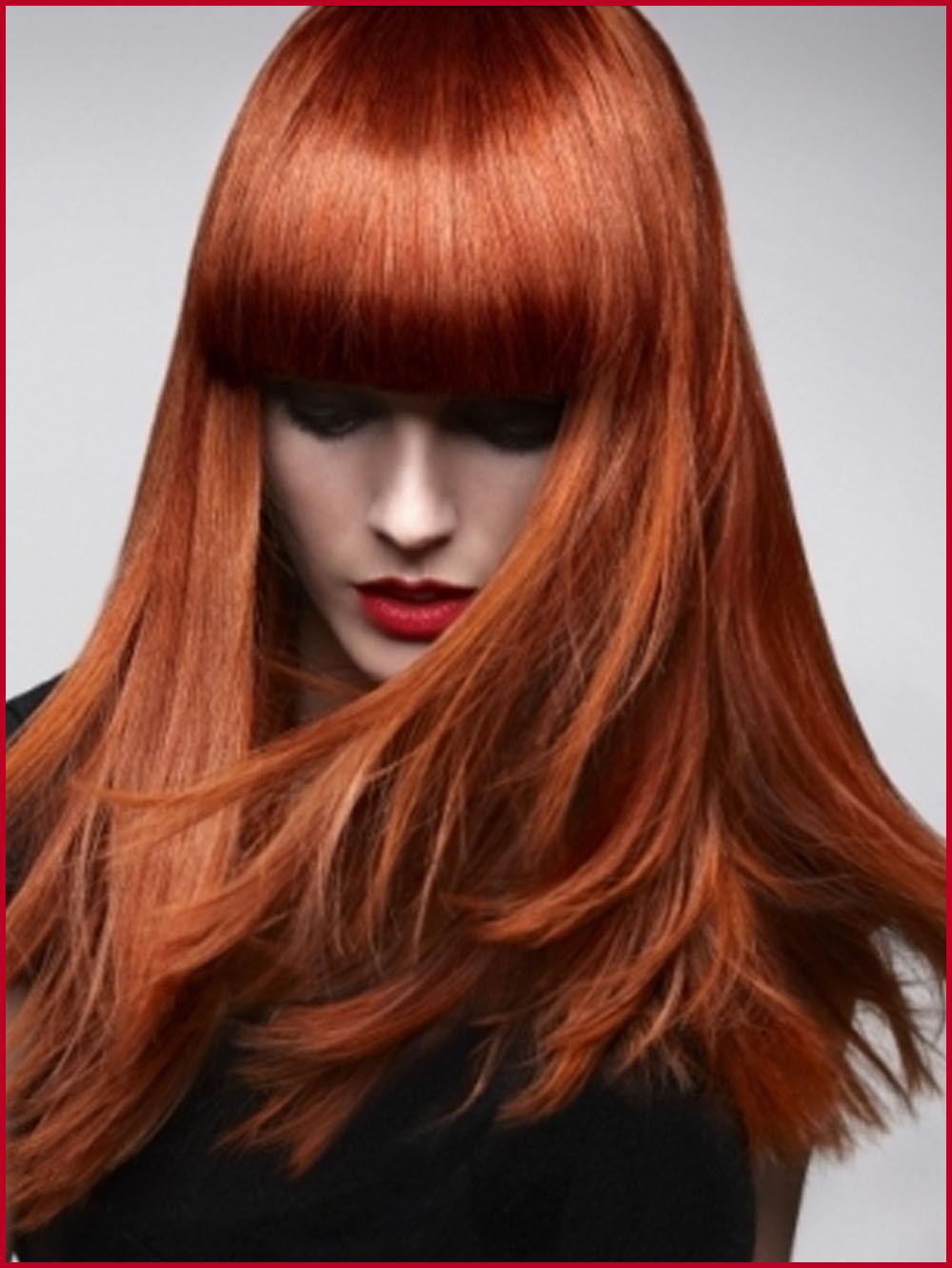 لون الشعر النحاسي