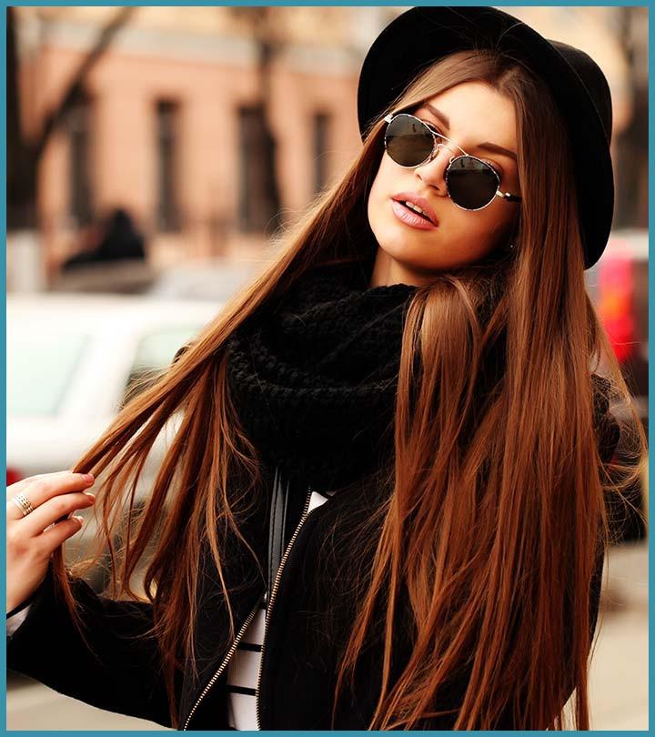 لون الشعر العسلي