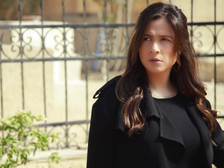 مكياج ياسمين عبد العزيز في مسلسل لآخر نفس