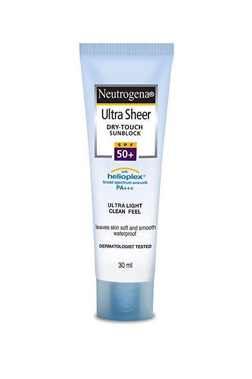 Neutrogena Ultra Sheer dry