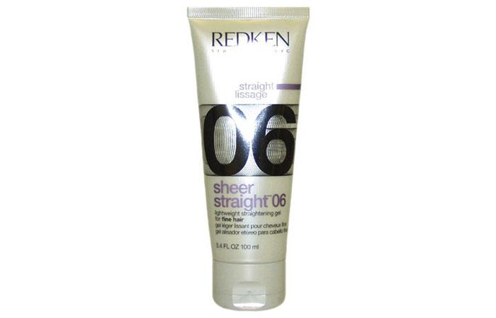 Redken Sheer Straight 06