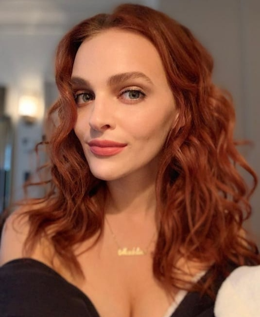 Vibrant Copper Hair