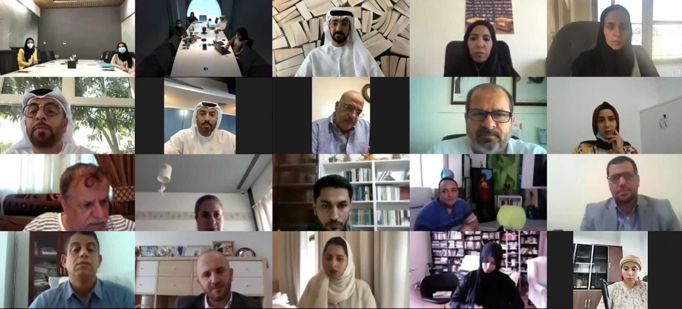 خلال اجتماع جمعية الناشرين الإماراتيين مع الناشرين