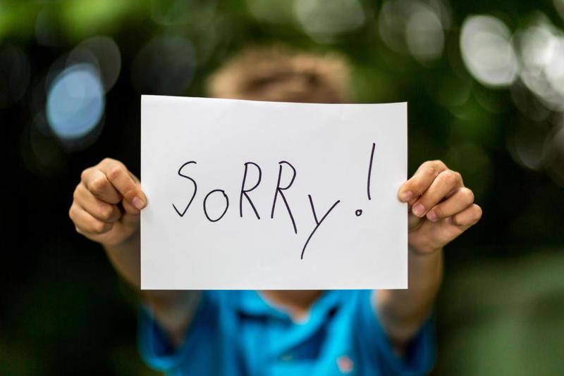 الاعتذار بين الزوجين