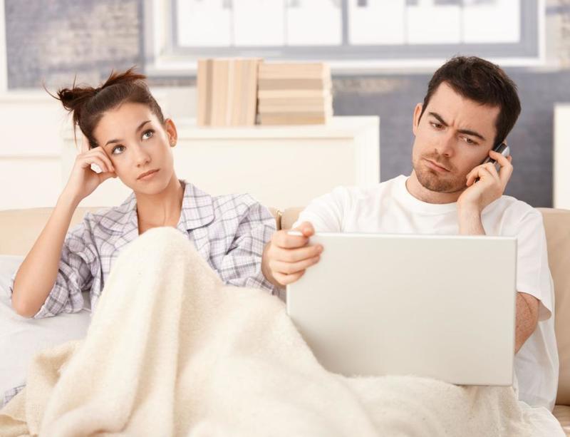 عندما لا يستمع الزوج لزوجته