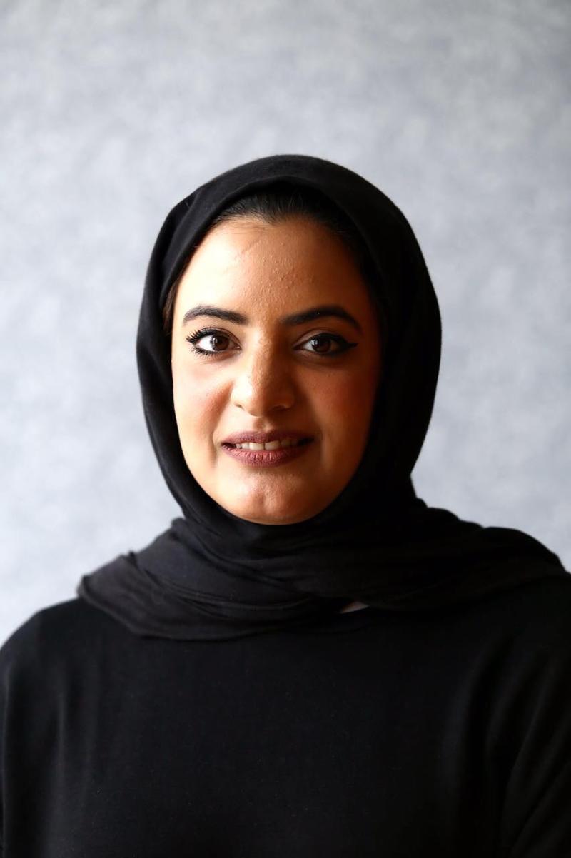 مروة العقروبي، رئيس المجلس الإماراتي لكتب اليافعين.