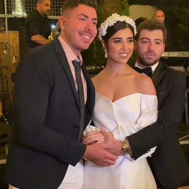 زفاف زينة مكي ونبيل خوري