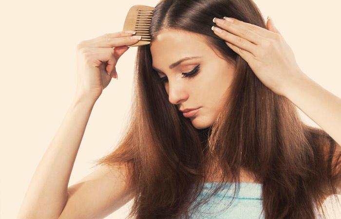 تعطير الشعر بالمسك