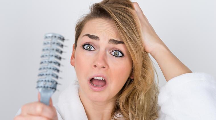 تعطير الشعر
