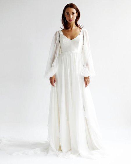 09d533e00 أجدد موديلات أكمام فساتين زفاف 2019 | مجلة سيدتي