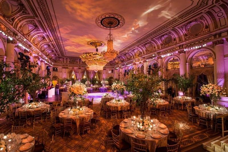 إضاءة الزفاف