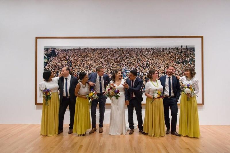 لحظات الزفاف