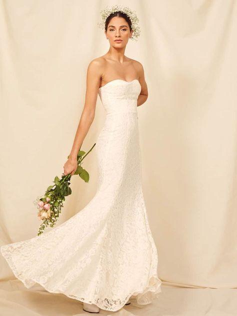 لون فستان الزفاف