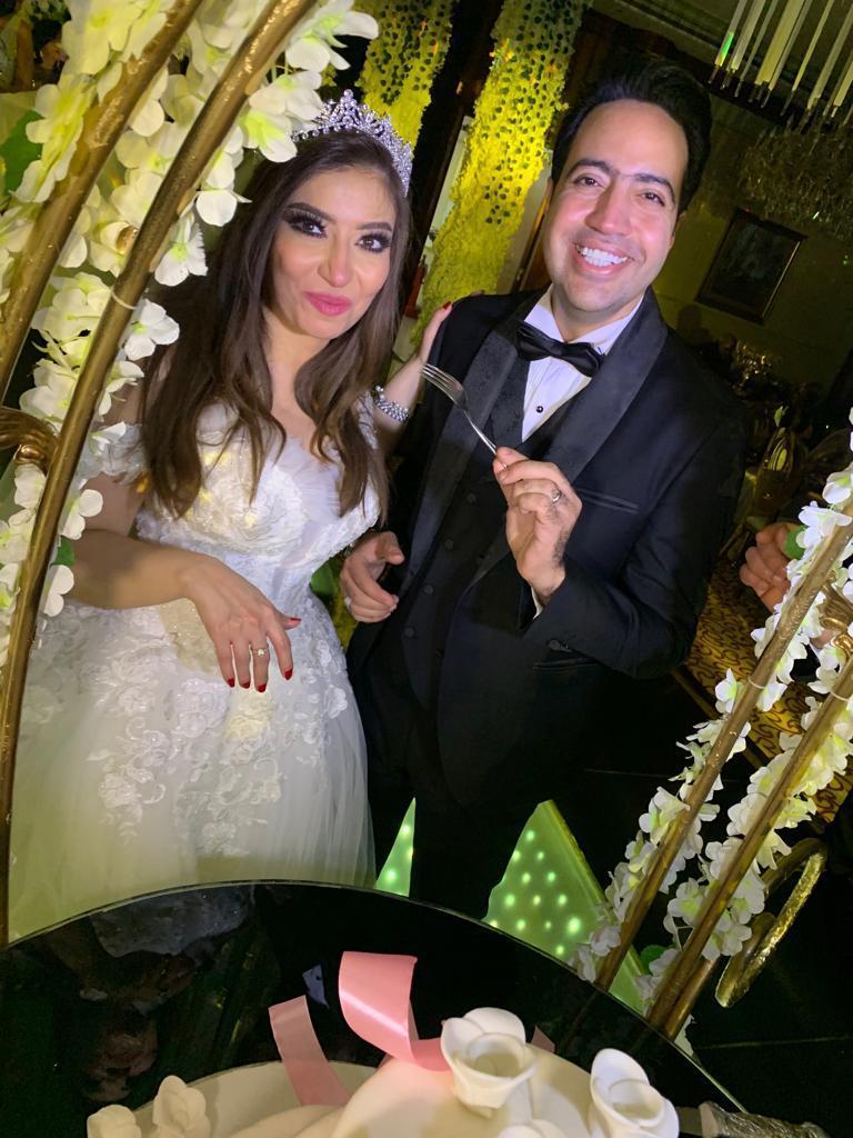 العروس غادة رجب