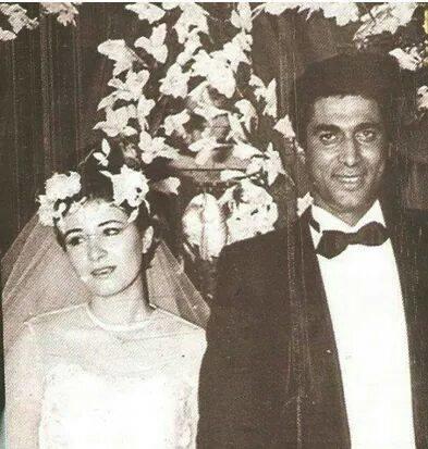 زفاف أحمد زكي وهالة فؤاد