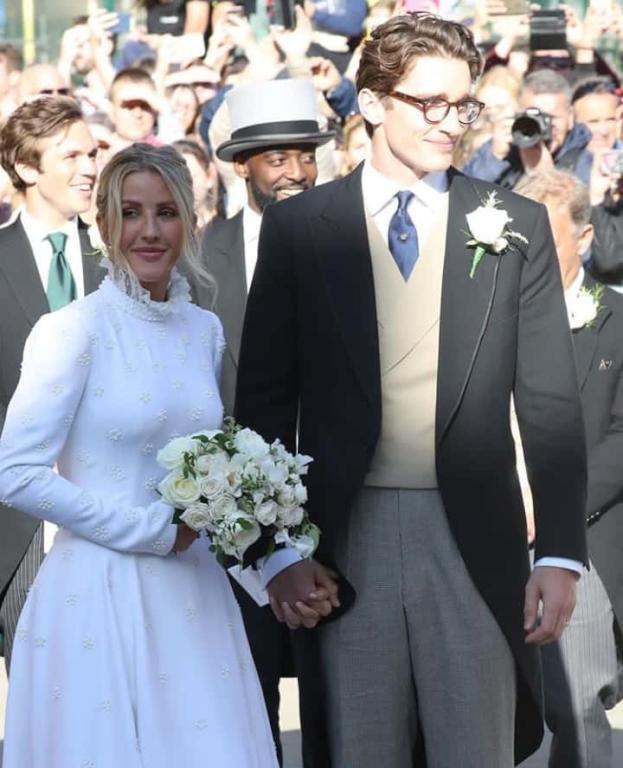 زفاف إيلي غولدينغ وكاسبار جوبلينغ