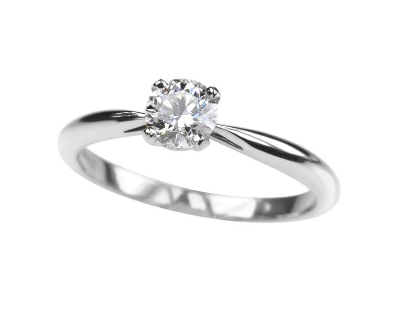 خاتم زفاف كلاسيكي
