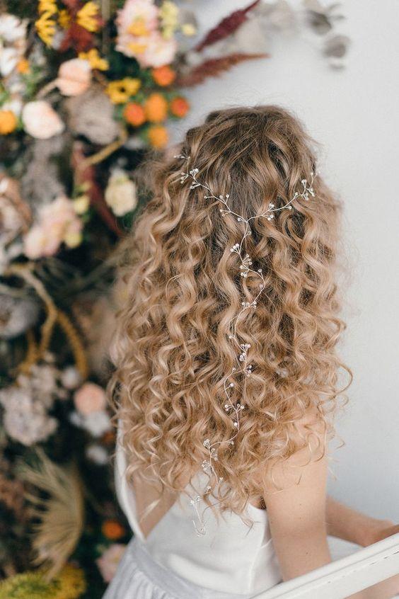 الشعر المنسدل
