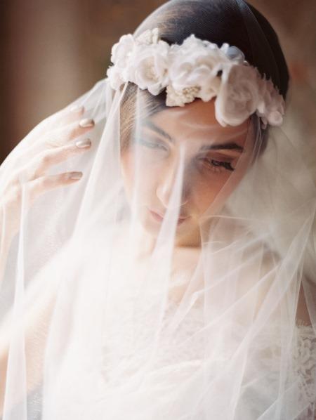 العروس الرومانسية