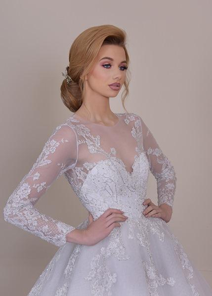a87436360dc57 إليك بعض صور تصاميم فساتين زفاف.
