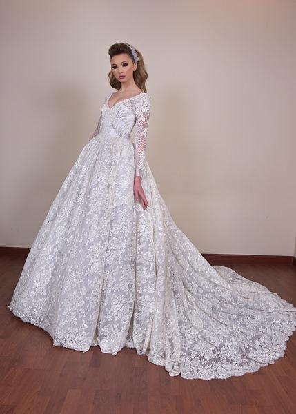 c2b555d14 فساتين زفاف جديدة لعروس 2018 | مجلة سيدتي