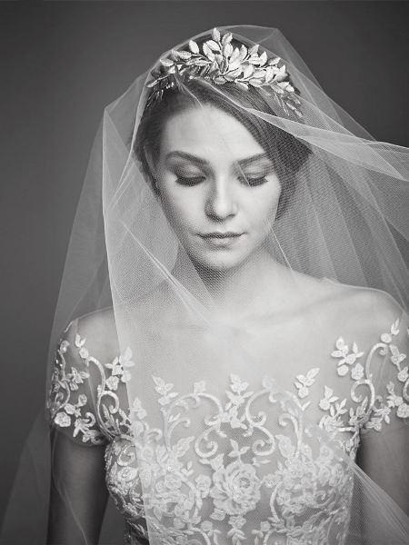 تسريحات واكسسوارات العروس
