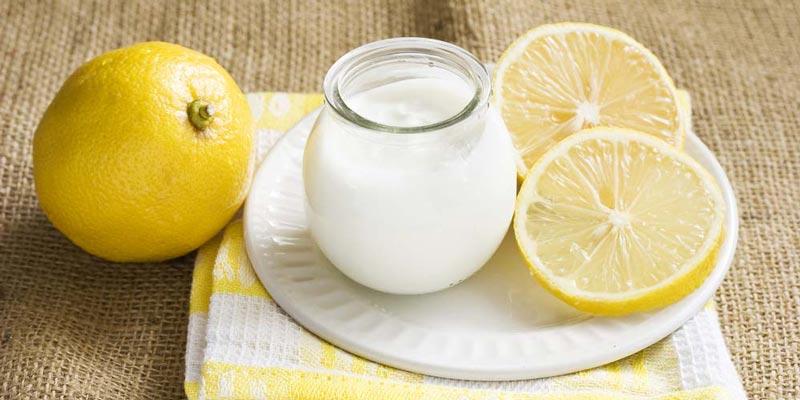 خلطة الليمون والنشا