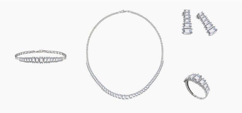 طقم شبكة الماس من Atasay