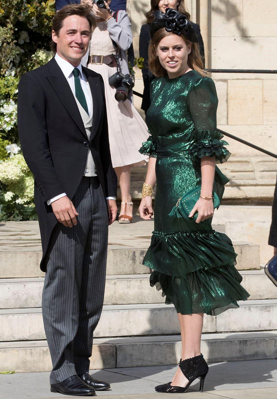 الأميرة بياتريس وإدوارد موتزي