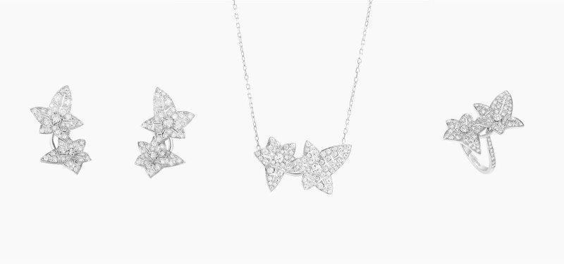 طقم شبكة الماس من بوشيرون Boucheron