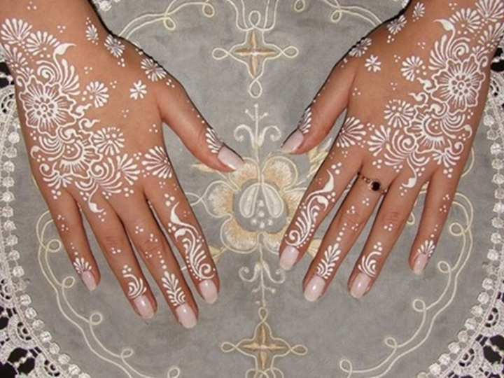 حناء عروس ابيض