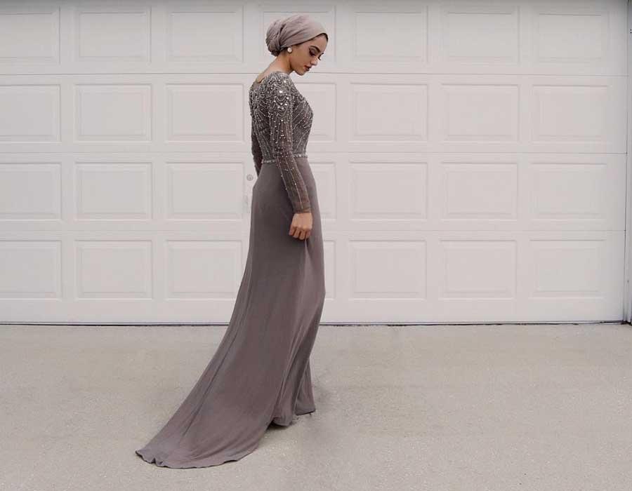 فستان خطوبة من وحي العيد