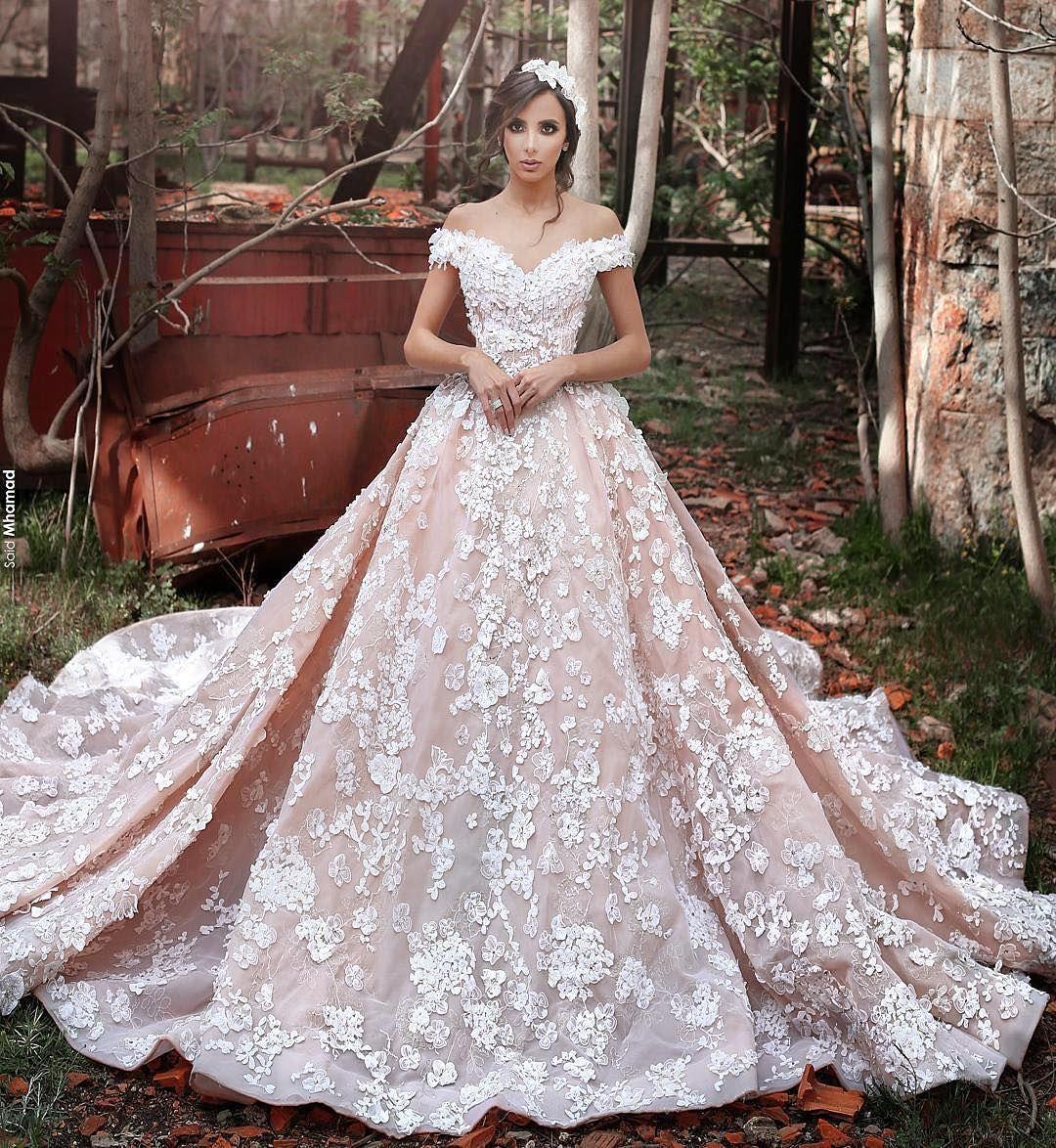 فساتين زفاف أوف شولدر