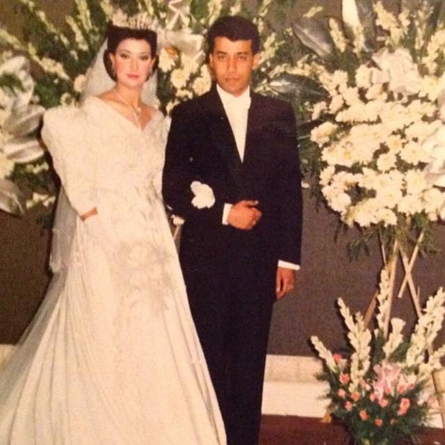 زفاف غادة عبد الرزاق والسيد عادل القزاز