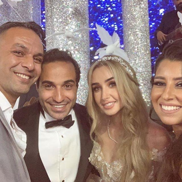 زفاف هنا الزاهد وأحمد حلمي