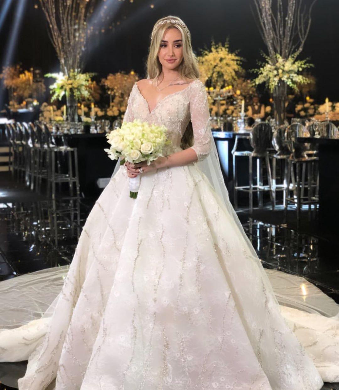 زفاف هنا الزاهد