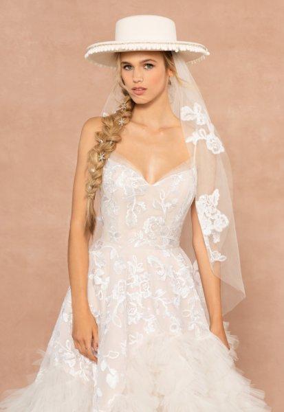 قبعات العروس