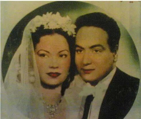 حفل زفاف مديحة يسري ومحمد فوزي