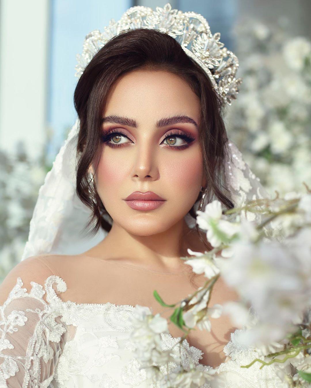 مكياج العروس زينب فياض